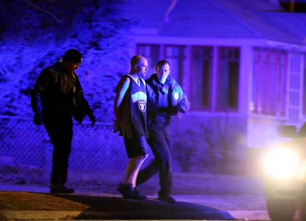 Billings Police apprehend a male after a standoff
