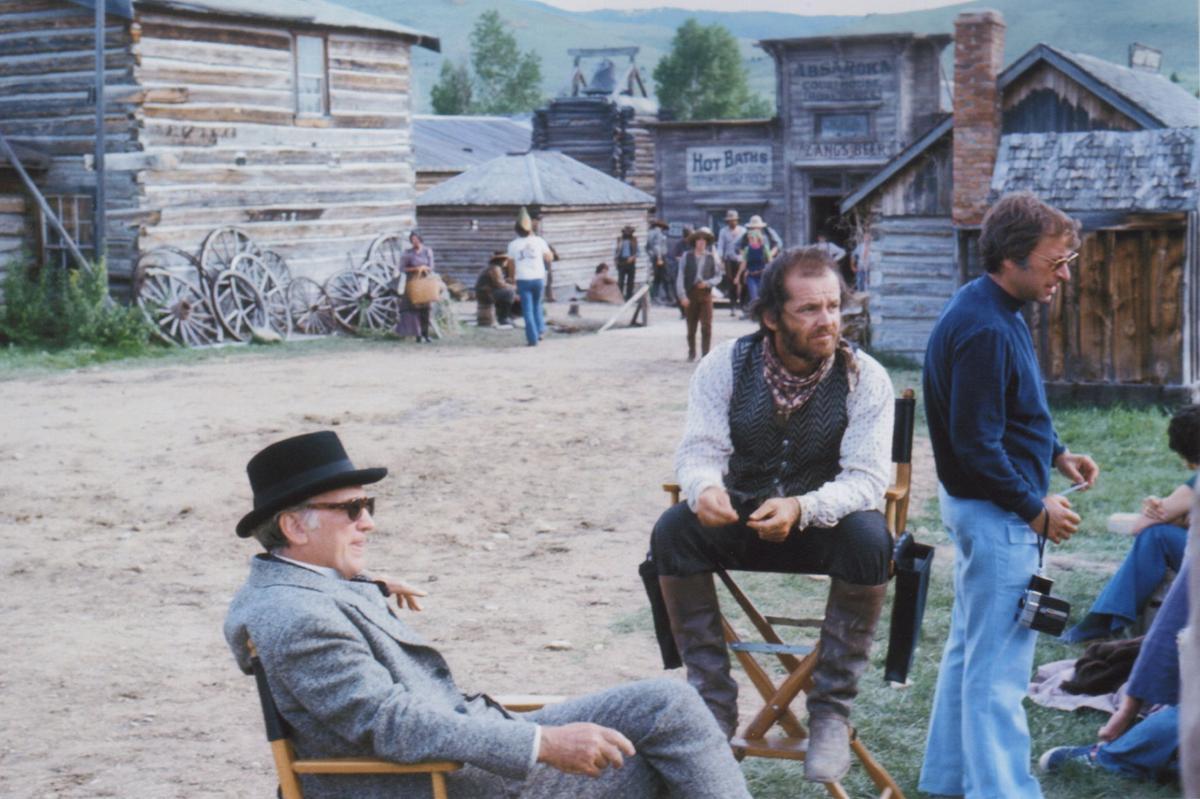 'Shot in Montana' — 'The Missouri Breaks'