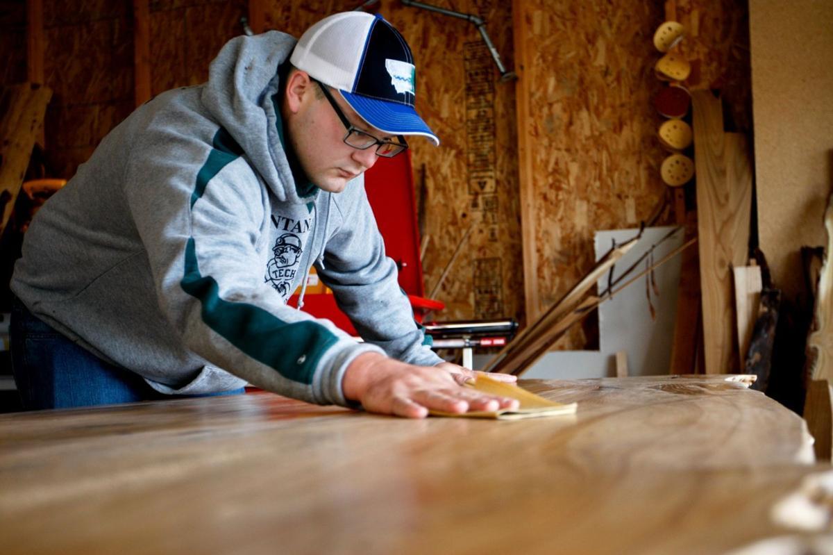 Andrew Bishop of River Bottom Restoration Furniture