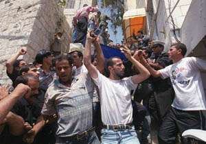 Israeli raid kills eight Palestinians, including three Hamas leaders and two children