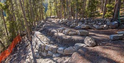 Canyon trail work
