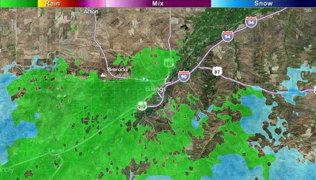 Storm soaks Billings r...