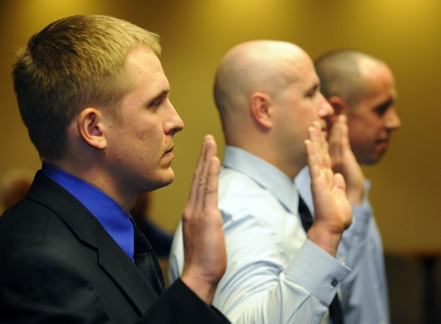New Billings police officers