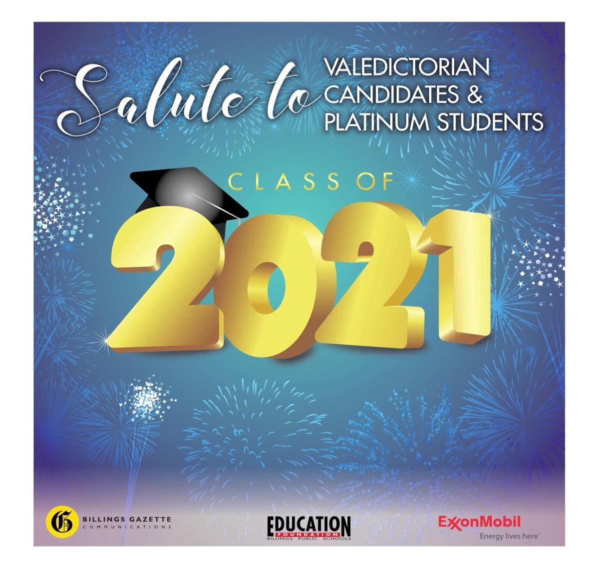 Salute to Valedictorians & Platinum Students 2021