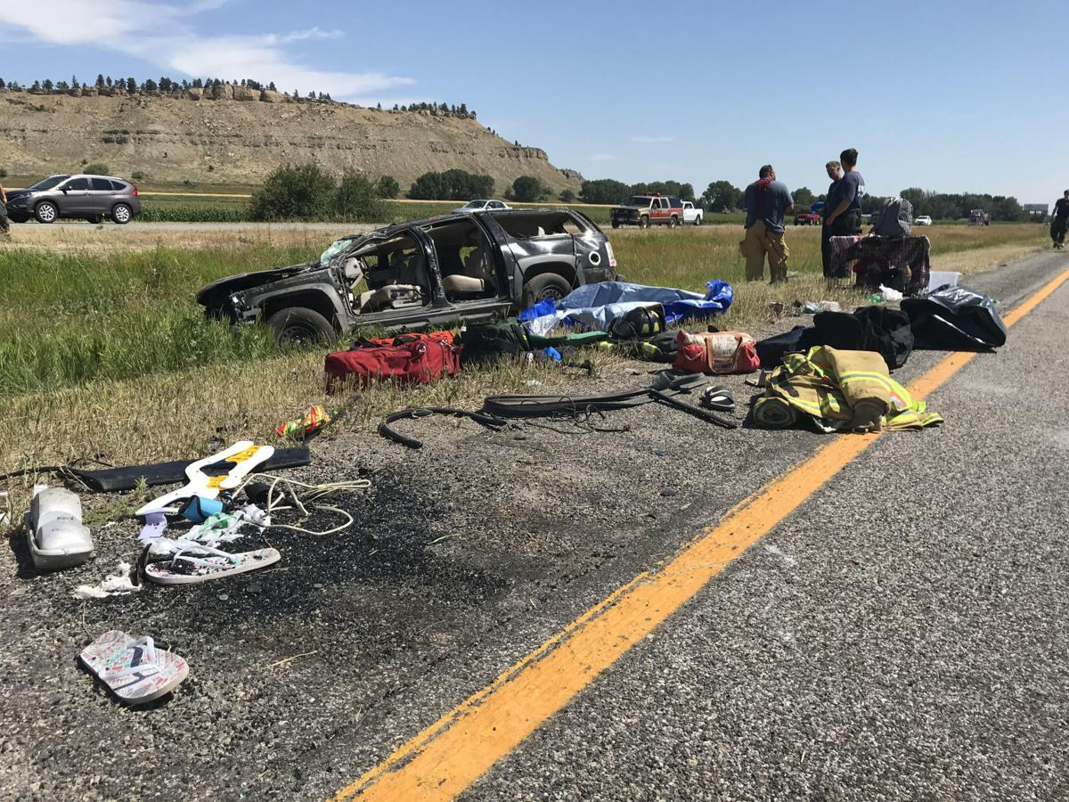 rollover crash near park city