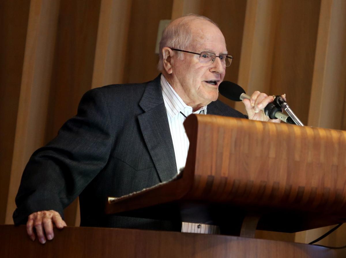 World War II veteran and radio personality Lonnie Bell