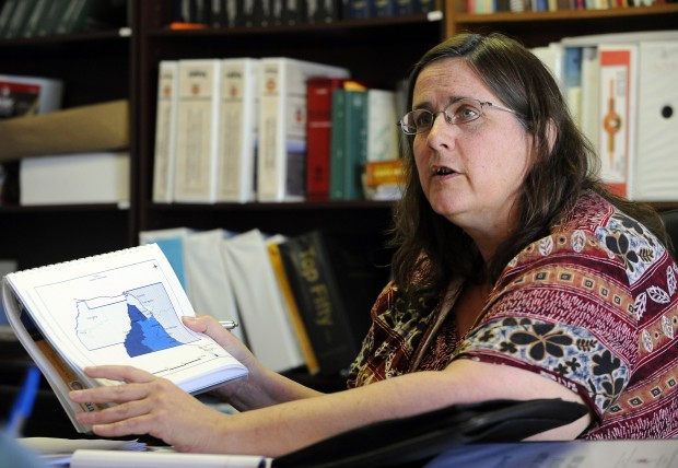 Kathleen Burrage, deputy legal counsel for the Crow Nation