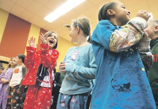 Pupils celebrate successful blood drive