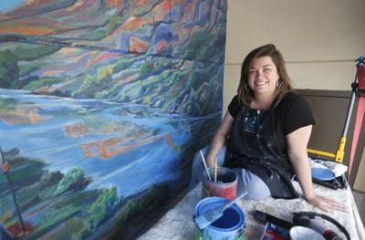 Muralists tackle large public canvases in Billings