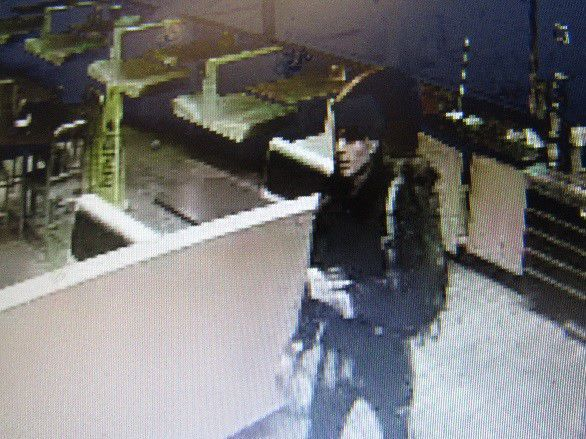 Burger King vehicle theft person of interest