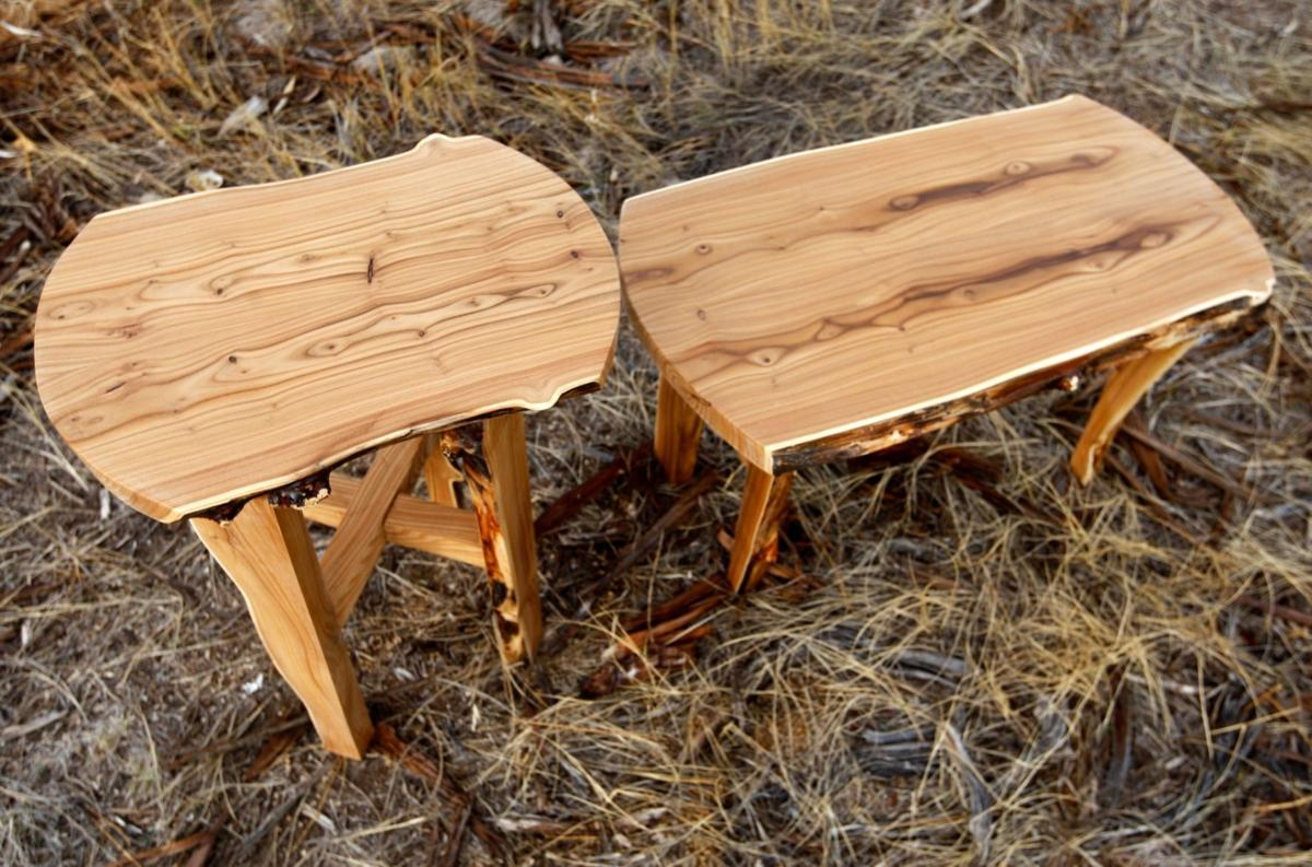 These are two of the small tables