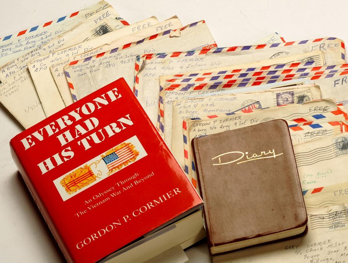 Gordon Cormier's letters