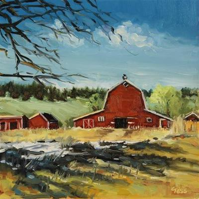 """Big Red Barn: Mean Mary,"" by Tess Lehman"