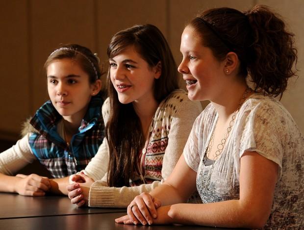 Lockwood Middle School students