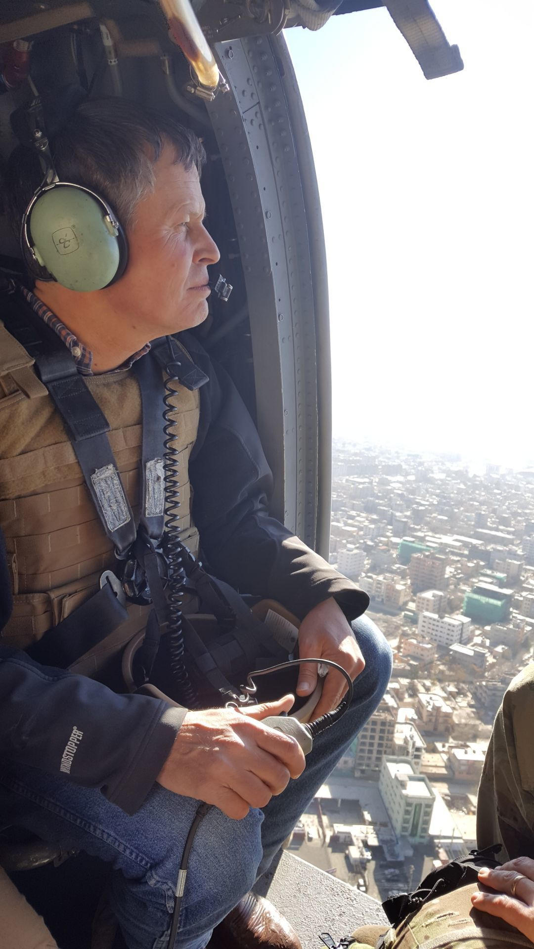 Daines in Afghanistan