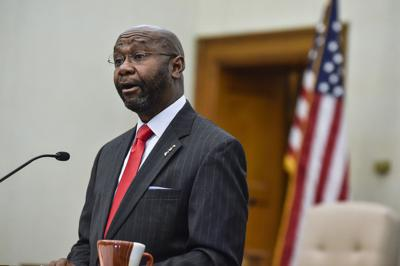 Mayor Wilmot Collins gives the 2019 State of the City address