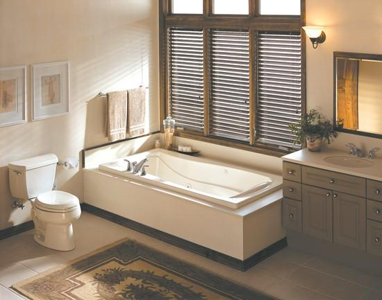 Whirlpool Tub Installation May Require Small Tankless Water Heater