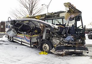 Investigators mystified as to bus crash cause