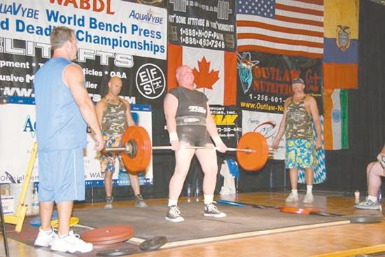 Discipline helps local resident in powerlifting competitions