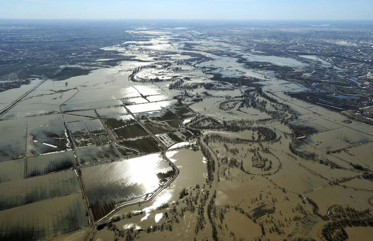 Milk River aerial