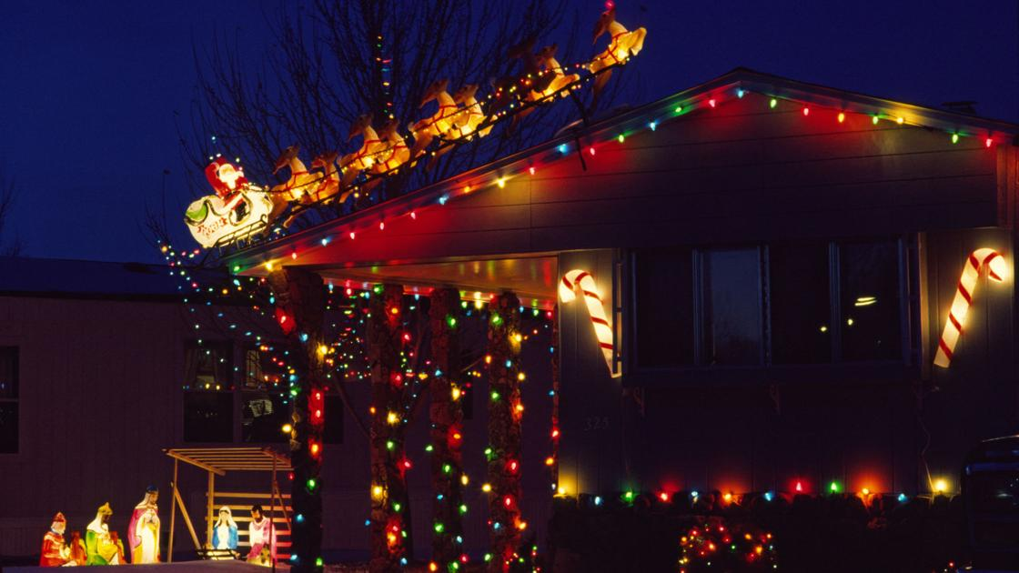 ghosts of billings christmas lights past local billingsgazettecom