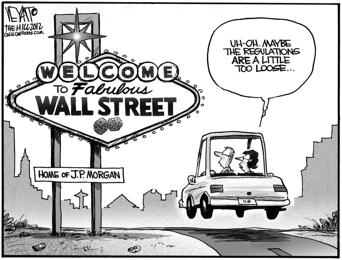 Big bank gamble