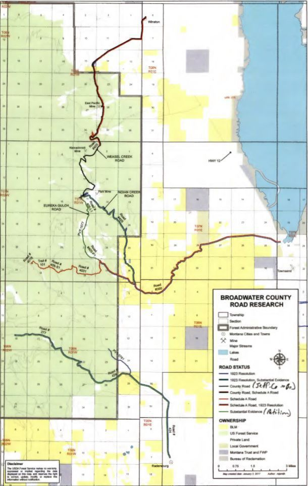 Elkhorn roads