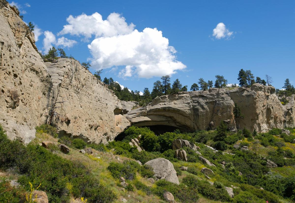 Road To Pictograph Cave Rough Montana Untamed Billingsgazette Com