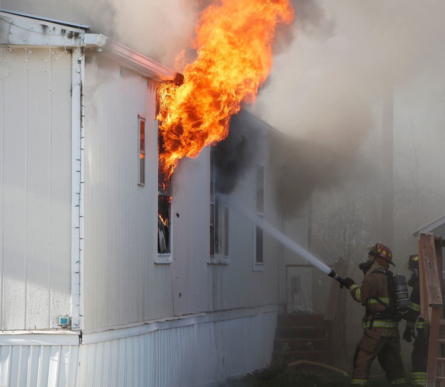 Saturday afternoon fire torches mobile homes in Lockwood, cause unknown | Billings Gazette