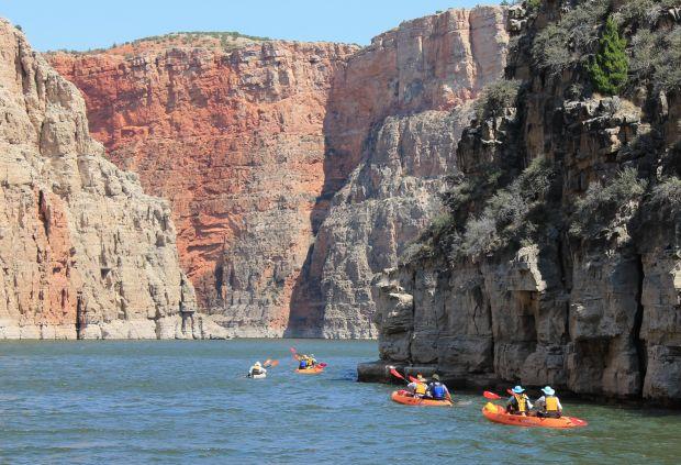 1,000-foot high cliffs