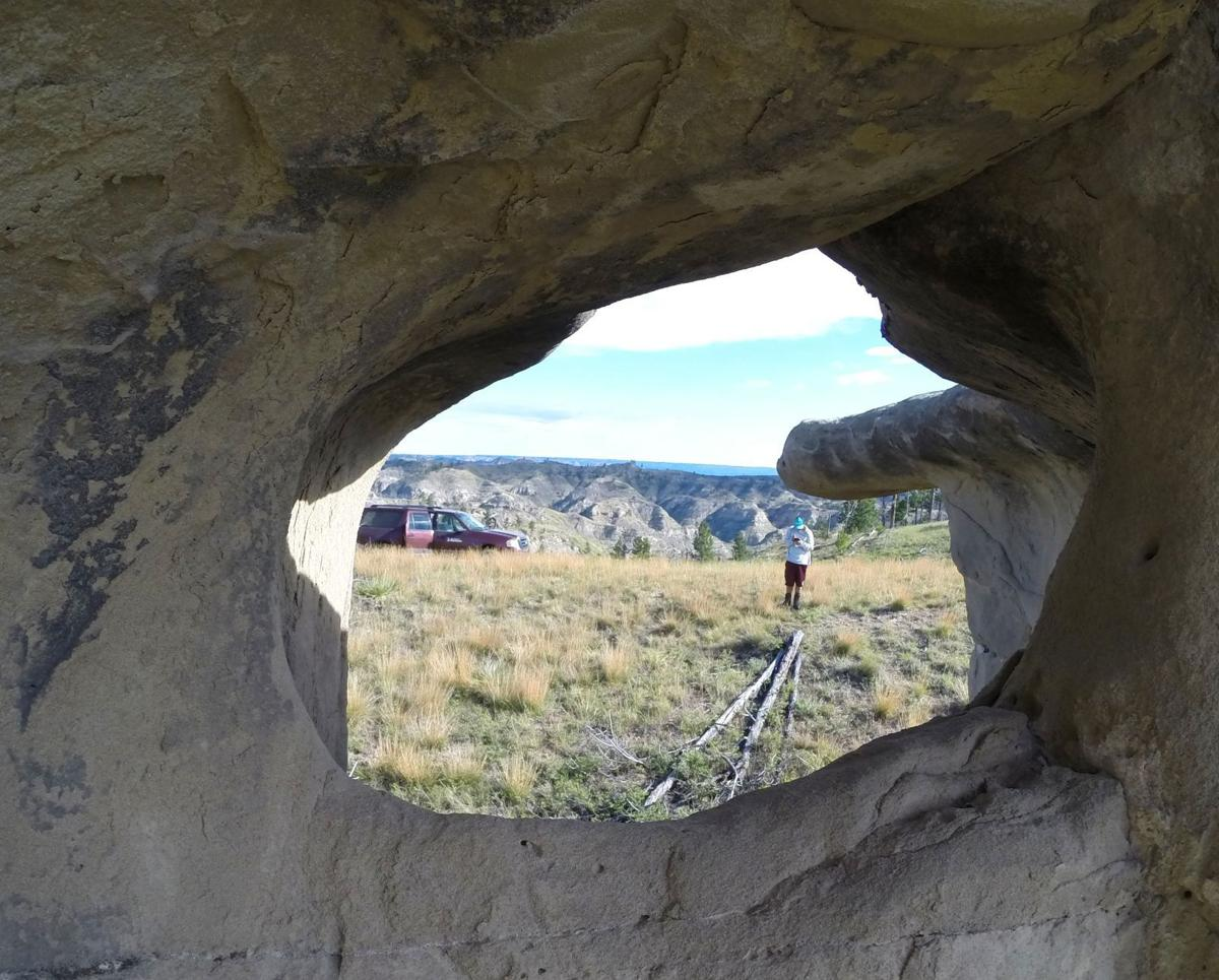 Through the looking rock