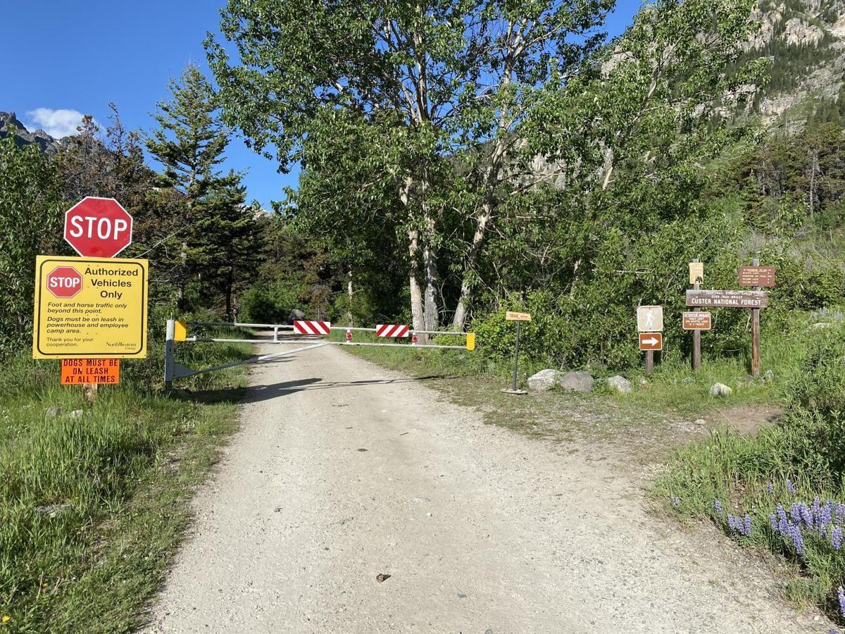 Mystic Lake trail reroute