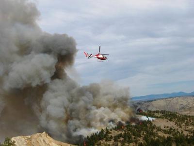 BLM prescribed fires
