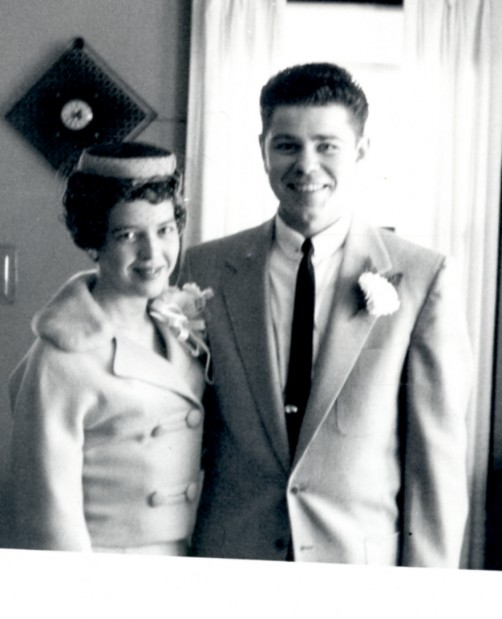 Janice and Brian Berkner in 1961