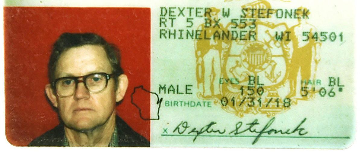 Stefonek drivers license