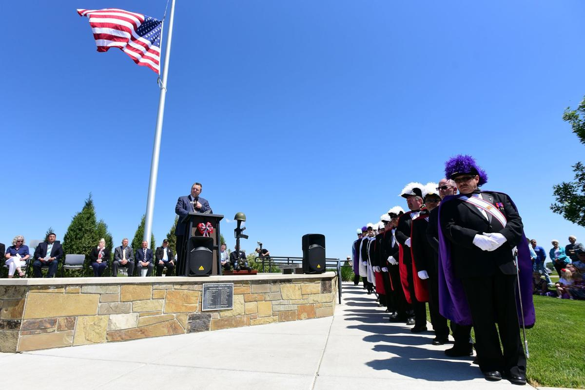 Yellowstone National Veterans Cemetery Memorial Day Ceremony