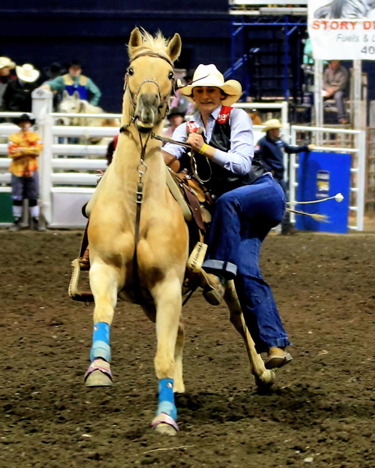 MSU Rodeo - Western's Mussmann
