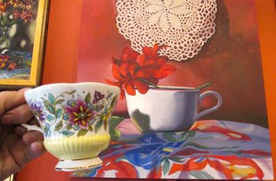 Zier Gallery's toast to tea and art