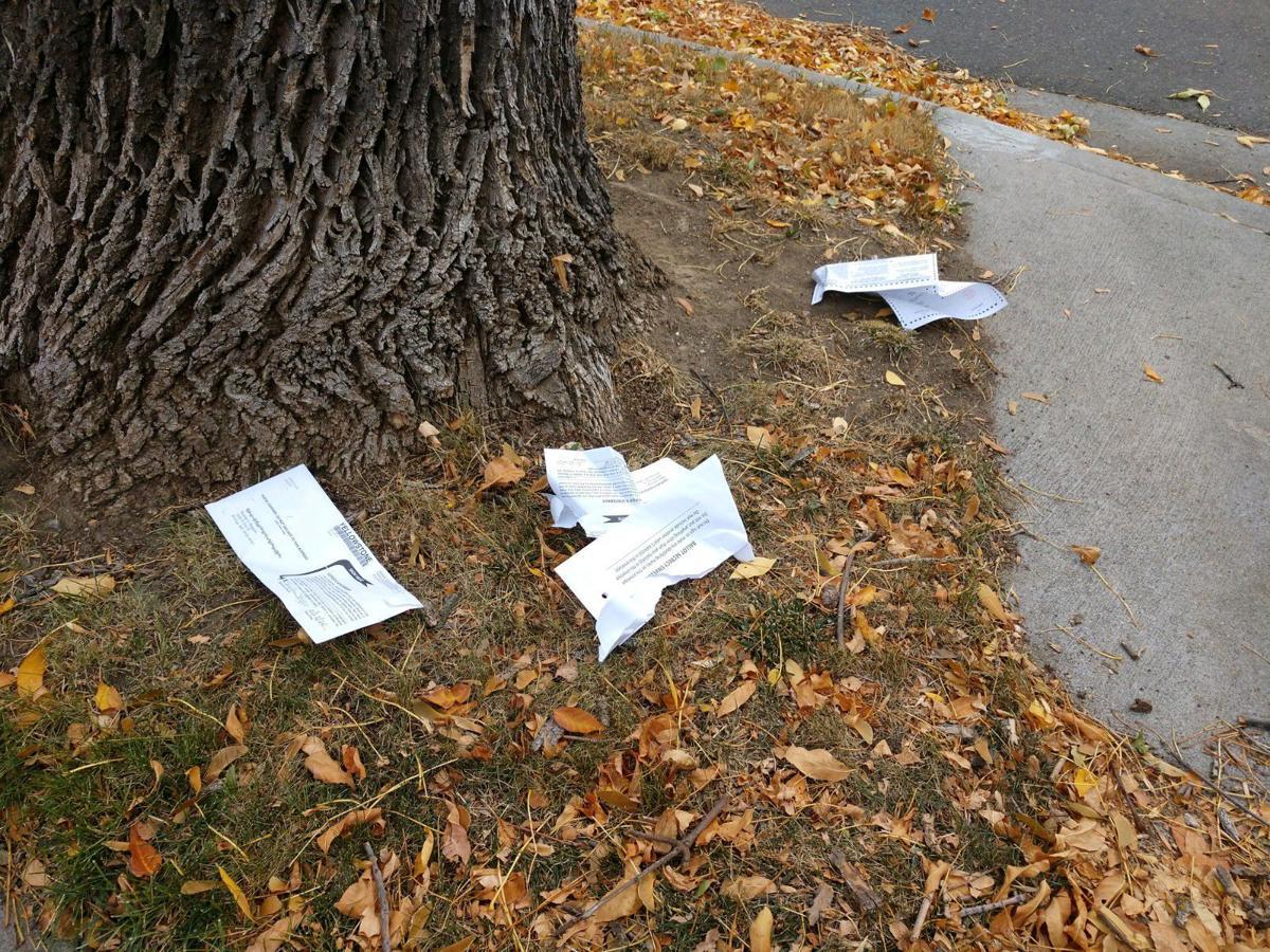 Torn up ballots