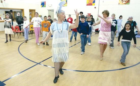 Golden Dancers show agelessness of performing
