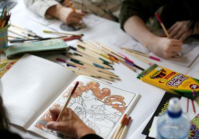 Coloring book features work by 26 artists from Montana and ...