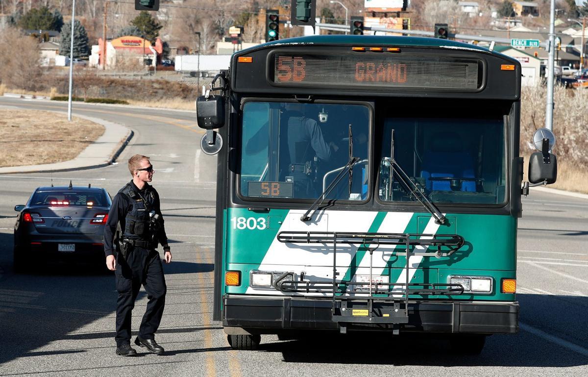 Stolen MET bus