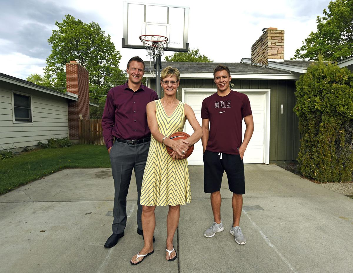 Cheri Roberts and sons Ben and Mitch