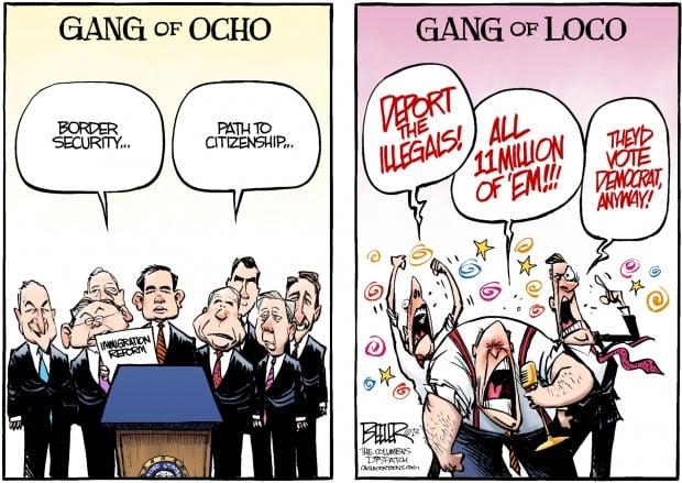 May cartoon: Gang of 8