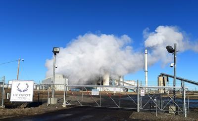 Hardin power station
