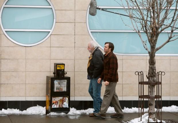 """Nebraska"" stars Bruce Dern and Will Forte"