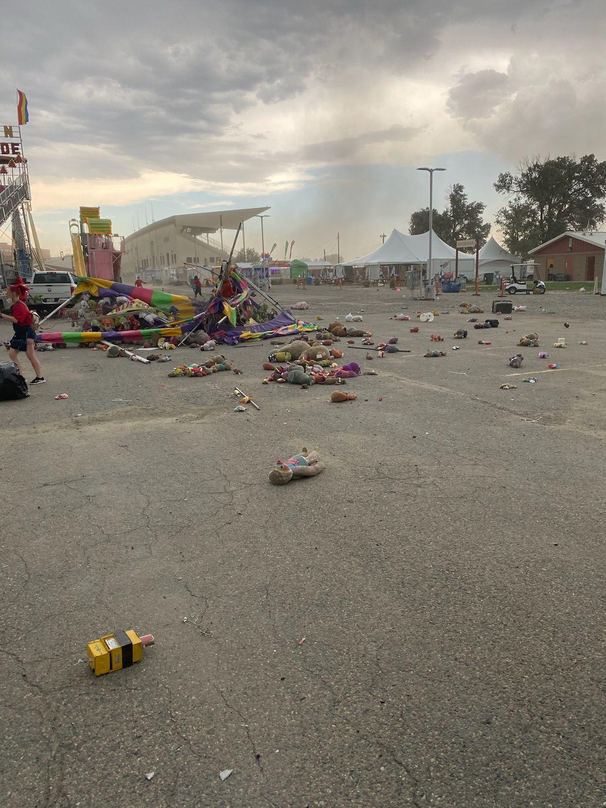 MontanaFair tent collapses