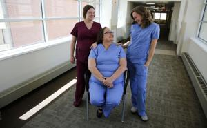 A Wyoming mother and her daughters found a new bond through a shared calling as nurses