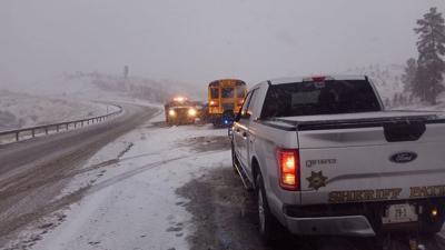 Rosebud County school bus crash
