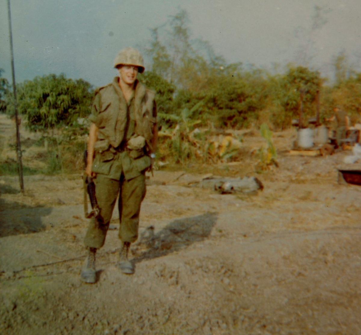 Vietnam veteran Dave Rye
